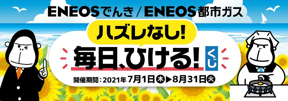 ENEOSでんき/ENEOS都市ガスのお申し込みでポイントをもらおう!