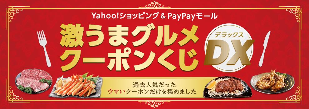 いろんなクーポンをゲットして、Yahoo!ショッピングやPayPayモールでおトクに買おう!