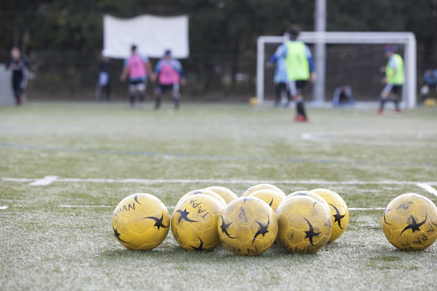 ブラインドサッカーのボール