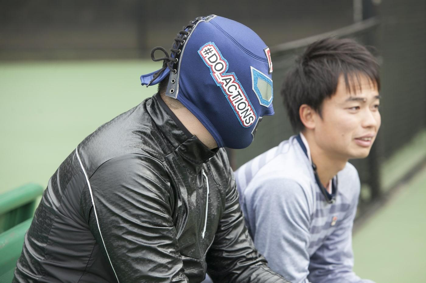 蚊口コーチとDOマン