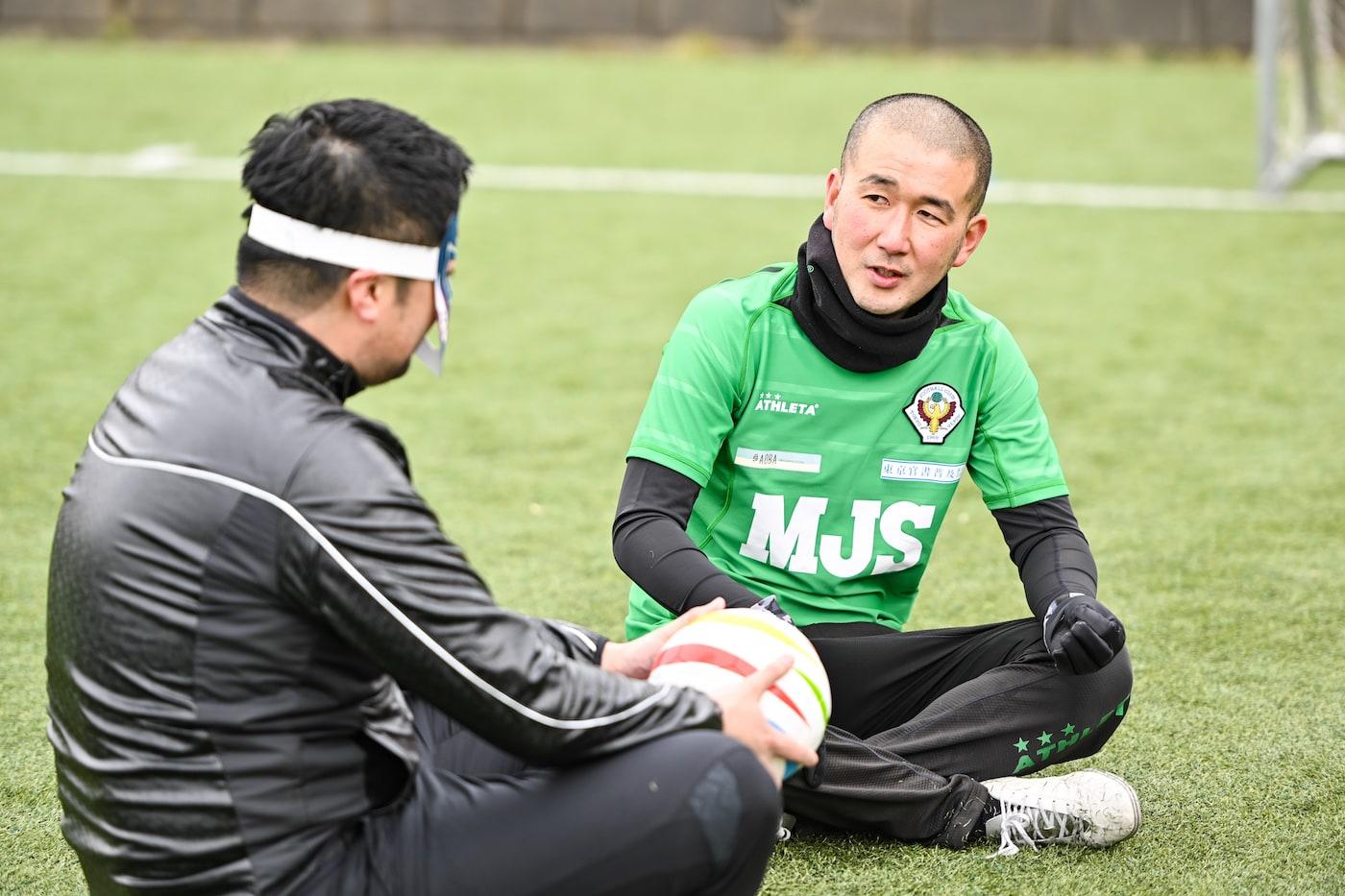 DOマンと中村コーチ