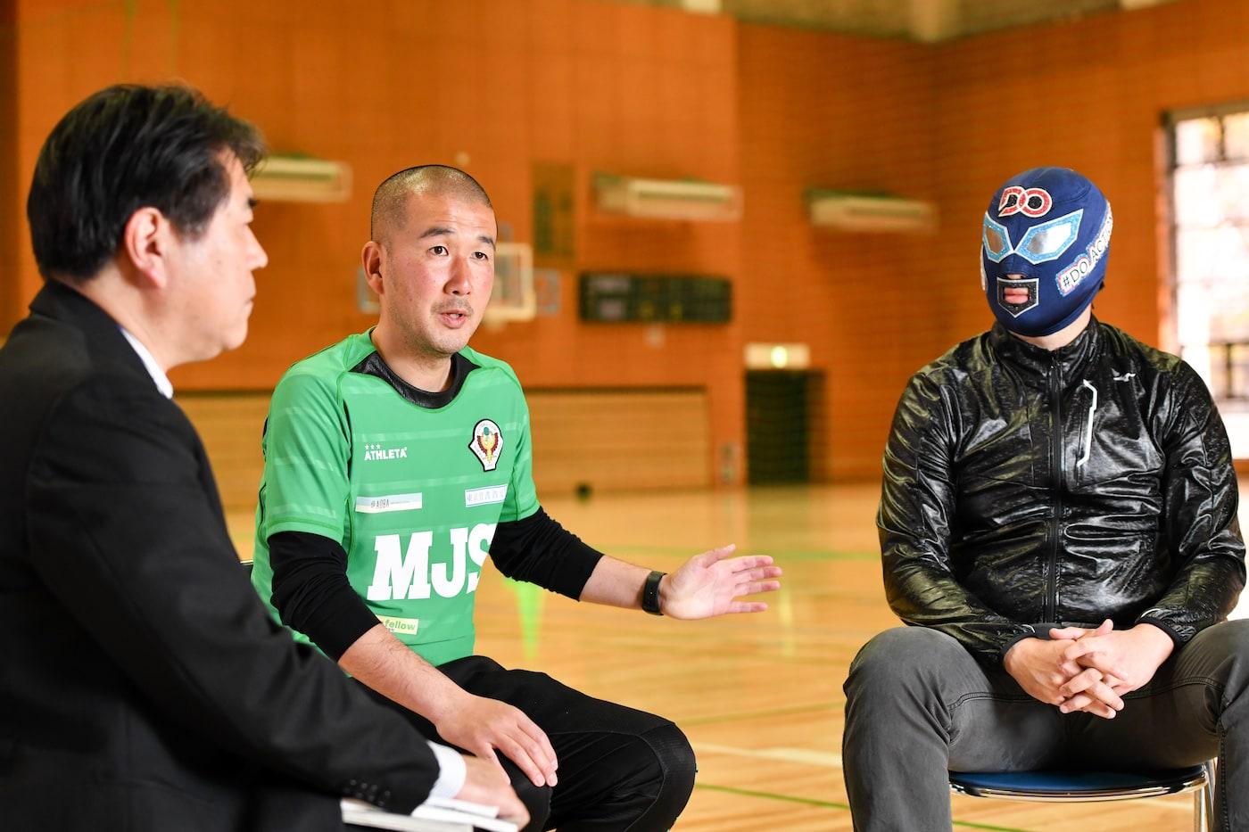 DOマンと笠間さんと中村さん