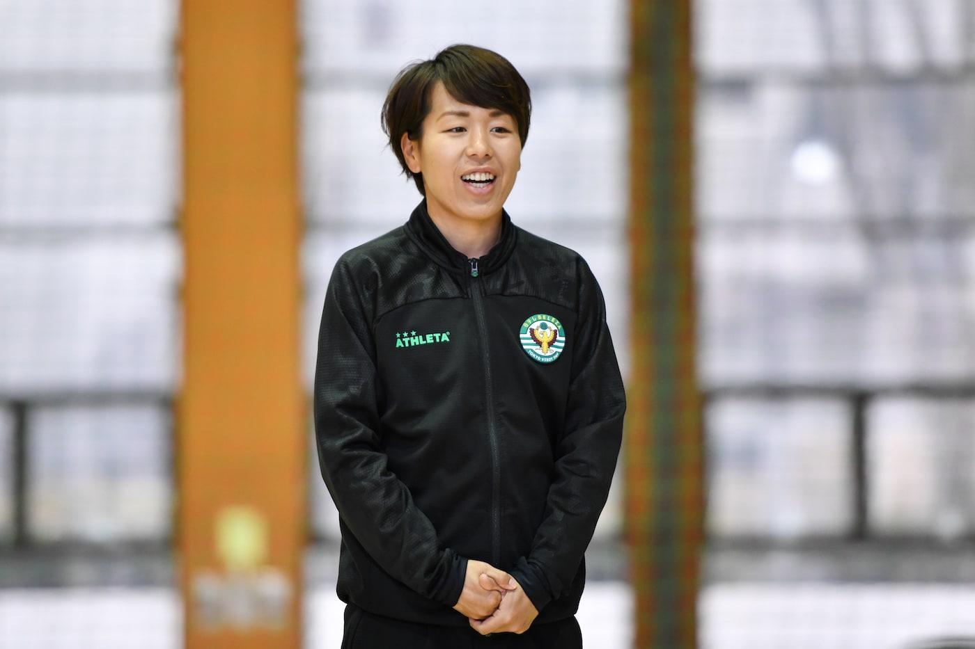 岩清水梓選手
