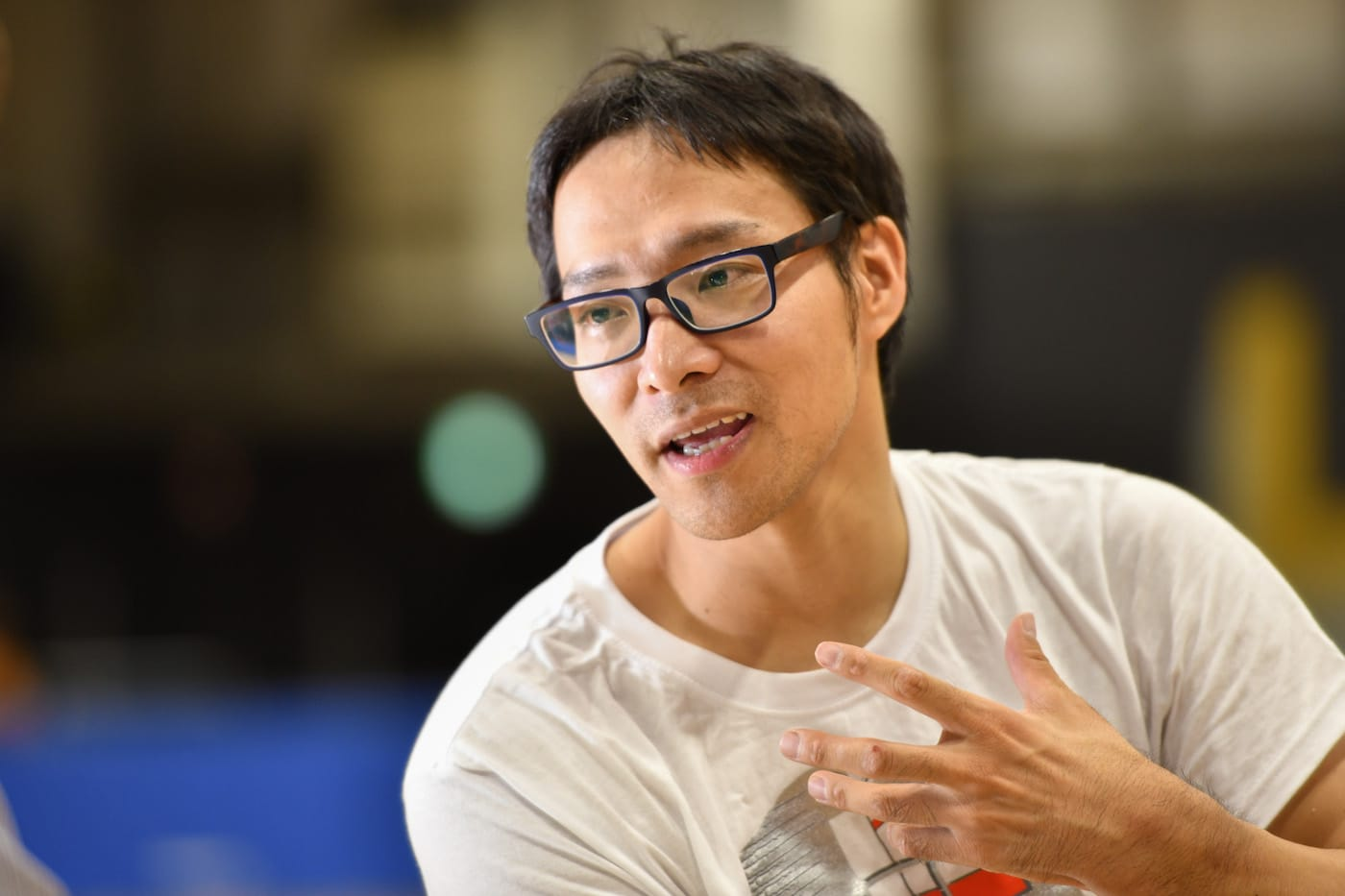 車いすフェンシングの藤田道宣選手