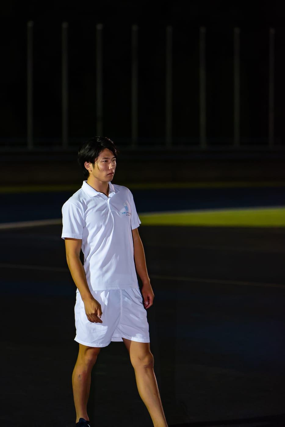 成田緑夢選手の写真