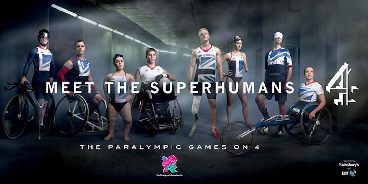 Channel 4が制作したロンドンパラリンピックのポスター