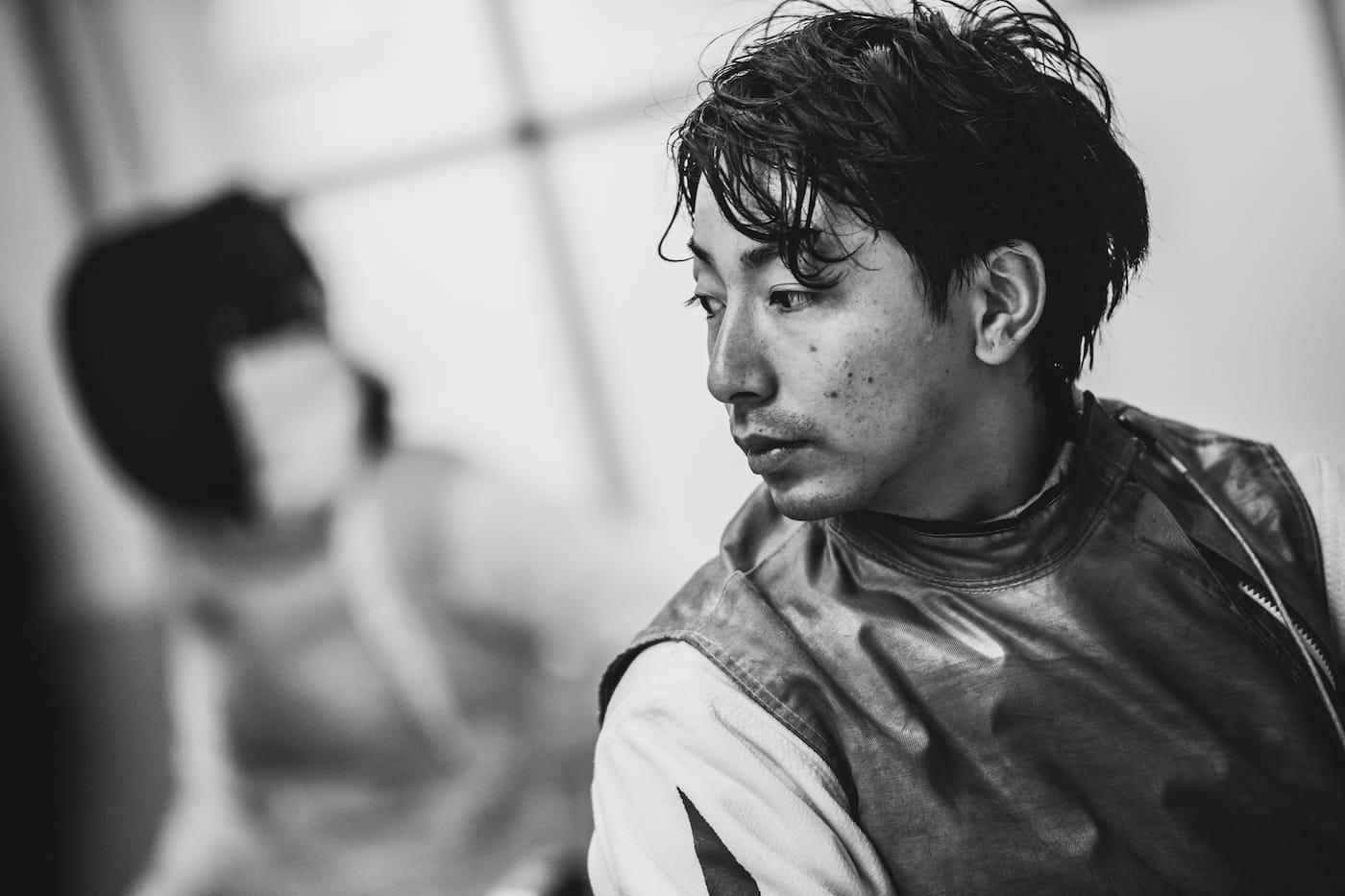 車いすフェンシング・加納慎太郎選手の写真