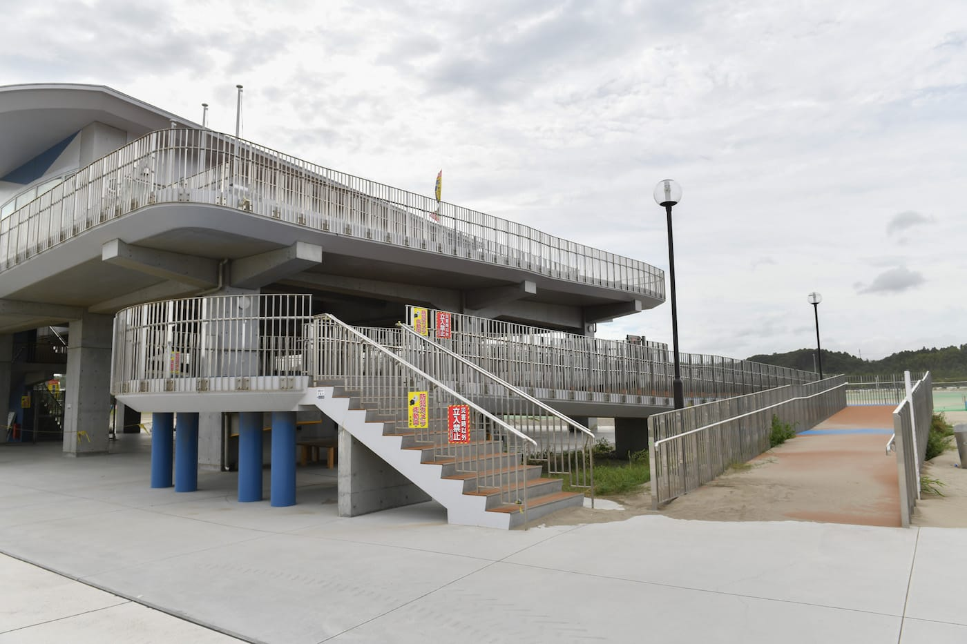 「ユニバーサルビーチセンター」の外観