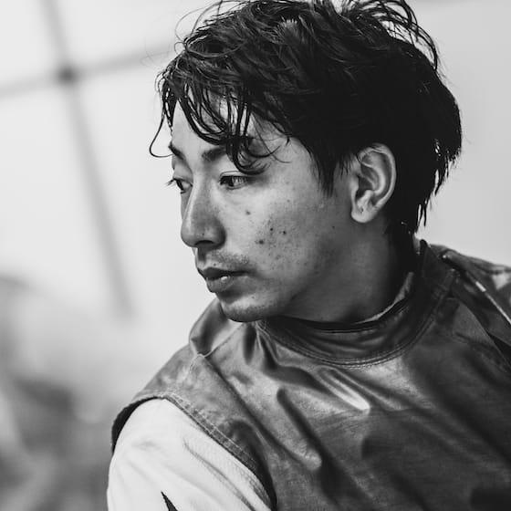 車いすフェンシング・加納慎太郎選手のポートレート