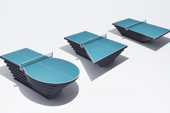 PARA PINGPONG TABLE(カタチにとらわれない卓球台)