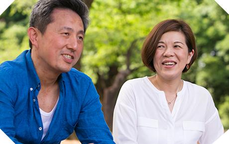 宮本さんご夫婦 結婚9年目