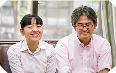 橘さん・水口さんご夫婦 結婚7年目