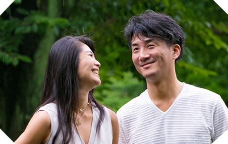山口さんご夫婦 結婚13年目