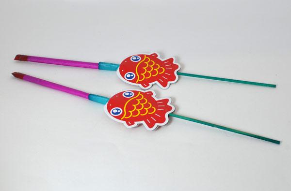 イリュージョン型花火「水中金魚はなび」