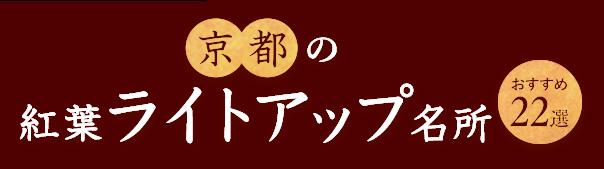 京都の紅葉ライトアップ名所おすすめ22選