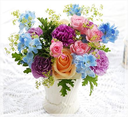 還暦祝い結婚祝い贈り物の花まりか