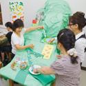 児童学科、食物学科、生活芸術学科の3つの学科があります