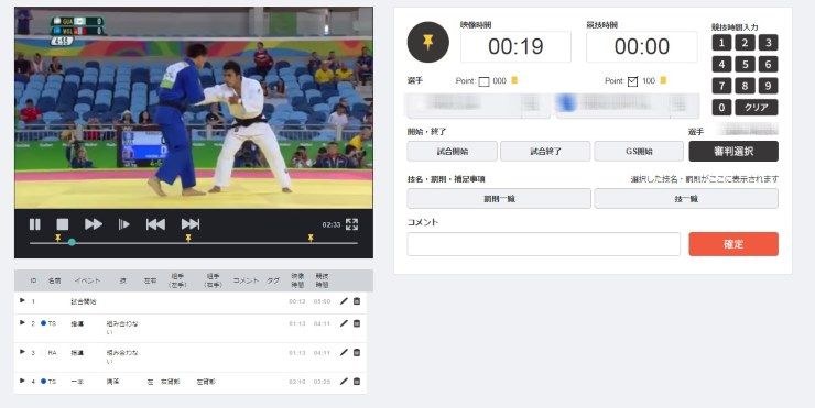 Gold Judo Ippon Revolution Accordance 全日本柔道連盟が独自に開発したデータ解析ツール。頭文字をとり「GOJIRA(ゴジラ)」と呼ばれている