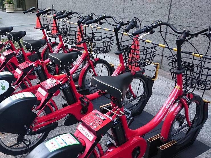 サイクルシェアリングシステムの自転車