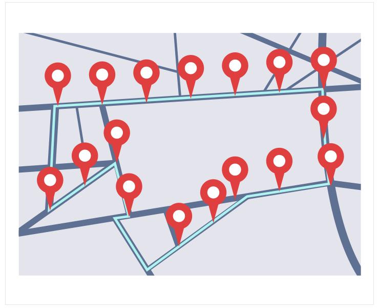 走行・移動データの活用の図