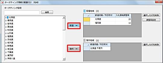 ターゲティング設定の関連付け方法3