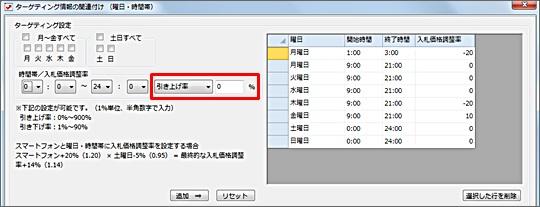ターゲティング設定の関連付け方法9