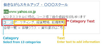 category text sample image