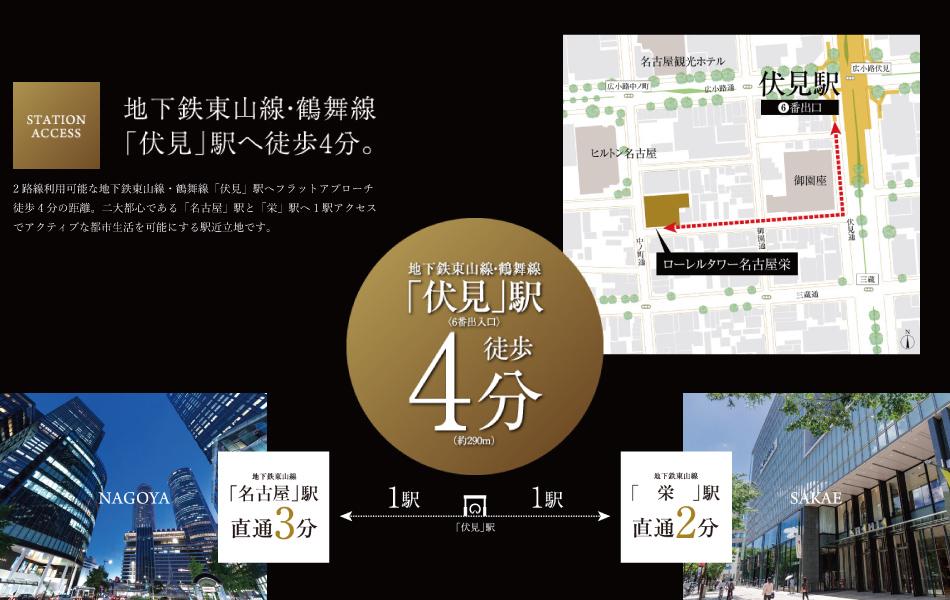 ※掲載の環境写真は2018年8月に撮影したものです。※距離表示については地図上の概測距離を、徒歩分数表示については80mを1分として算出(端数切り上げ)したものです。※列車・地下鉄の表示分数は日中平常時の所要時間です。乗り換え・待ち時間等は含まれておりません。所要時間は、時間帯・交通事情により異なる場合があります。※表示内容は、2018年9月の調査時点のものです。