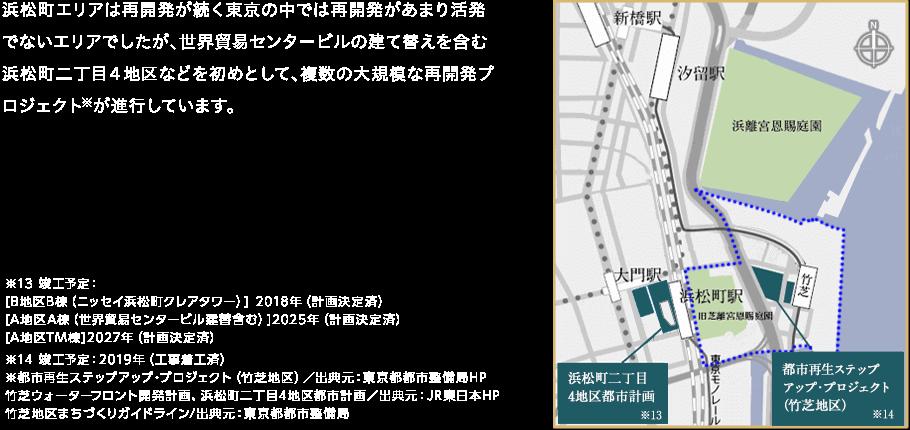 浜松町エリア