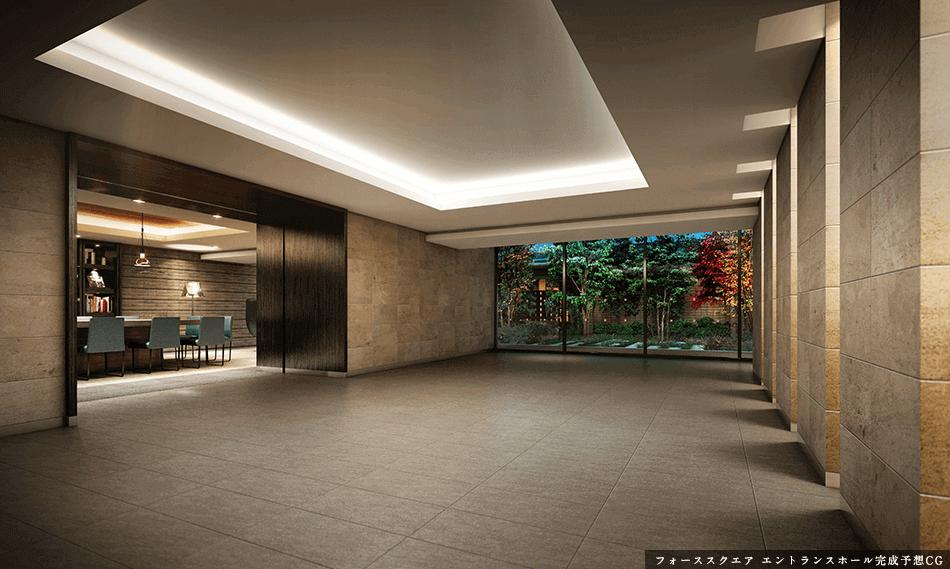フォーススクエア エントランスホール完成予想CG