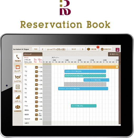 Reservation book