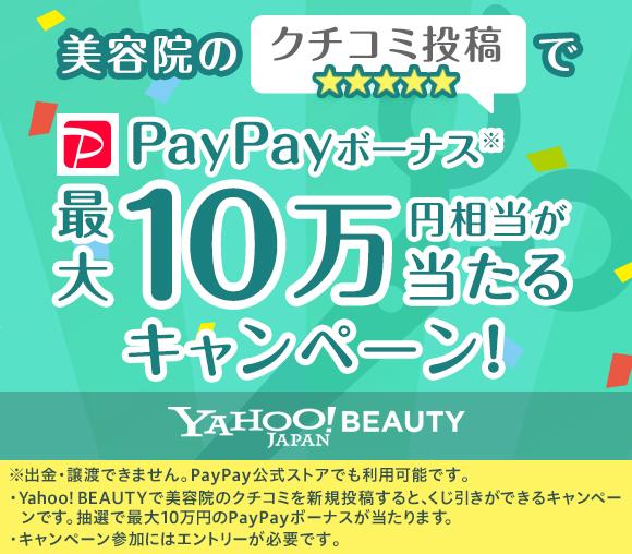 美容院のクチコミ投稿でPayPayボーナス最大10万円相...