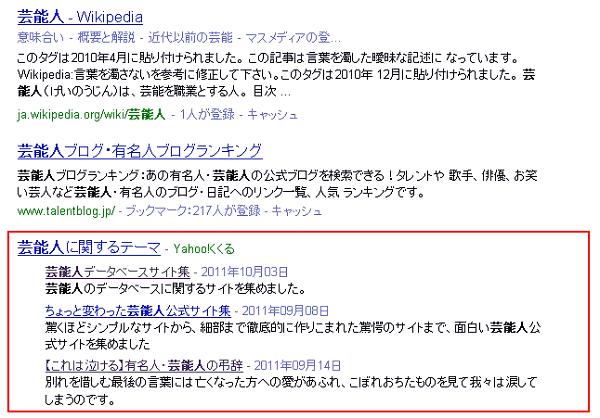 Yahoo!くくるのショートカットリンク