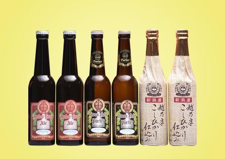 金賞ギフト6本セット 3種類飲み比べ