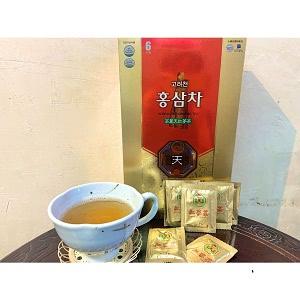 高麗人参 紅參茶 紅参茶 ホンサム茶 (顆粒) 3g×100個 健康茶/韓国茶/伝統茶/韓国高麗紅参/高麗紅参/風邪予防/サポニン/疲れ