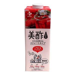 ★まとめ買い★ CJ 美酢 いちご&ジャスミン 950ml ×12個【イージャパンモール】