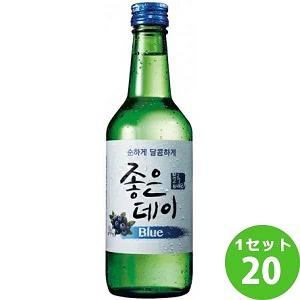 ジョウンデー ブルー(ブルーベリー味)  360ml×20本 ウリスル・ジャパン