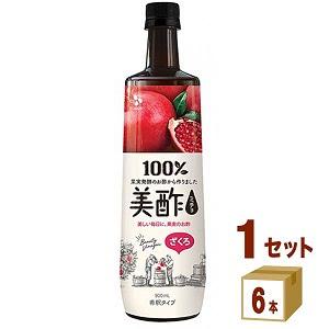 美酢 ざくろ ペット  900ml 6本 CJフーズ