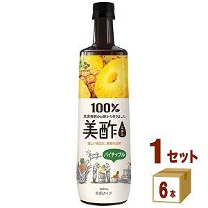 美酢 ミチョパイナップルペット  900ml 6本 CJフーズ