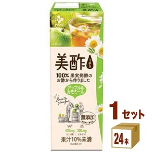 美酢 ミチョ アップル&カモミール パック  200ml 24本 CJフーズ