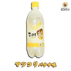 クッスンダン 米マッコリ バナナ味 750ml×2本