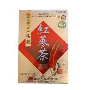 高麗紅参茶GOLD (3g×50包・粉末状)