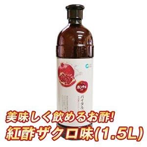 『清浄園』ホンチョ|紅酢・ざくろ味(1500ml×1本)