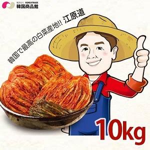 ガンウォンドンガン キムチ 1BOX(5kg x2袋)