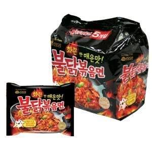 三養ブルダック麺 激辛 鶏肉焼きそば 1パック5袋入