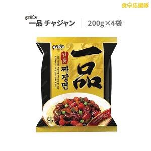 一品チャジャン 4個セット ジャージャー麺 韓国食品 韓国ラーメン インスタントラーメン