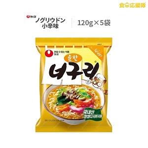 農心 ノグリウドン 小辛味 5袋 ノグリ 韓国料理 インスタントラーメン 韓国ラーメン