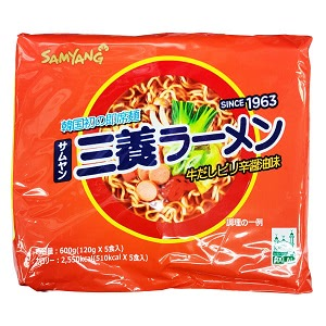 三養 三養ラーメン 120g マルチパック (5個入)