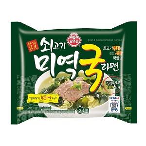 オットゥギ 牛肉わかめスープラーメン 115g マルチパック (4個入)