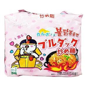 三養 カルボプルタク炒め麺 130g マルチパック (5個入) ※日本語版